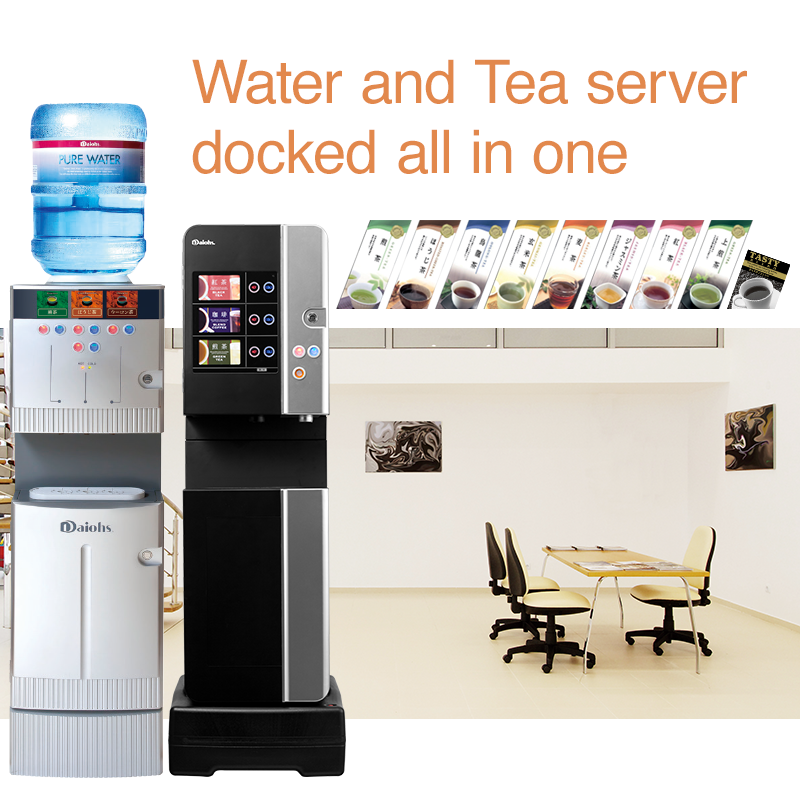 Tea Server Water and Tea server docked all in one
